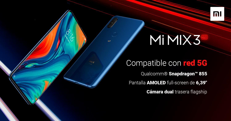 Xiaomi Mi Mix 3 5G sale a la venta en España. Características, especificaciones y precio.