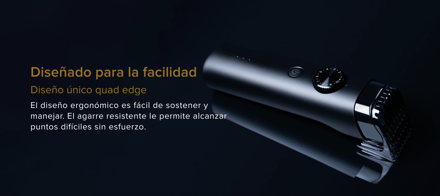 Nueva Xiaomi Mi Bear Timmer, cortadora y recortadora de barba. Noticias Xiaomi Adictos