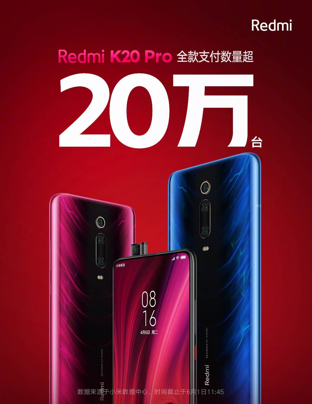 Redmi K20 Pro vende más de 200.000 unidades en apenas pocas horas tras su lanzamiento. Noticias Xiaomi Adictos