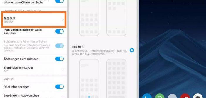 El cajón de aplicaciones App Drawer llega a MIUI. Noticias Xiaomi Adictos