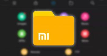 Xiaomi actualiza Mi File Manager con tema oscuro. Noticias Xiaomi Adictos