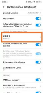 MIUI will have an application drawer (App Drawer) in the following updates. Download the alpha of MIUI Launcher