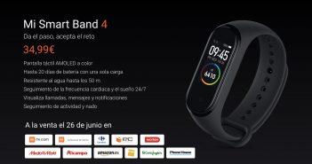 Xiaomi Mi Smart Band 4 España. Noticias Xiaomi Adictos