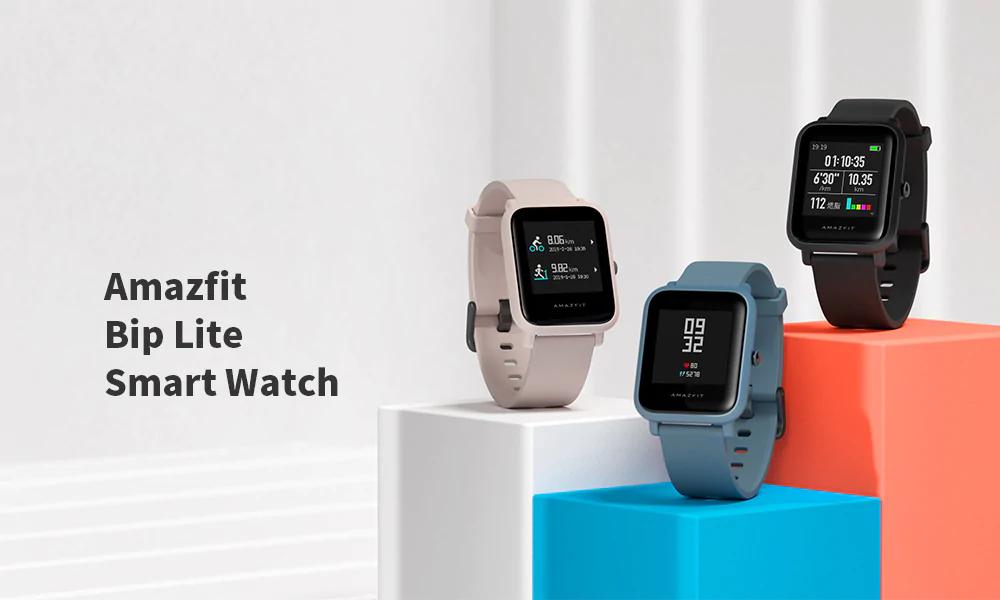 Aprovecha las nuevas ofertas de Gearbest para conseguir los Amazfit Bip Lite, Verge Lite y Stratos al mejor precio de toda la red. Noticias Xiaomi Adictos