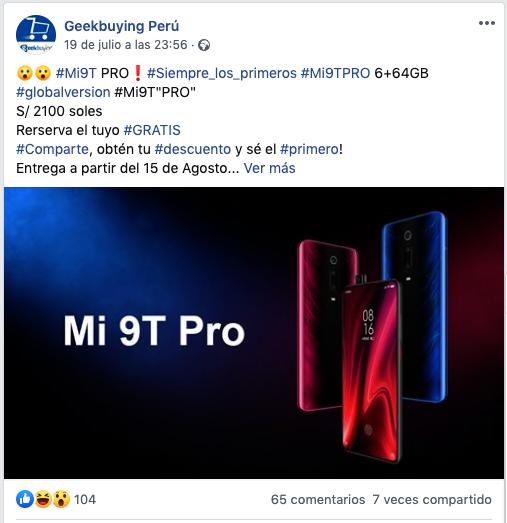 Xiaomi Mi 9T Pro fecha de presentación. Noticias Xiaomi Adictos