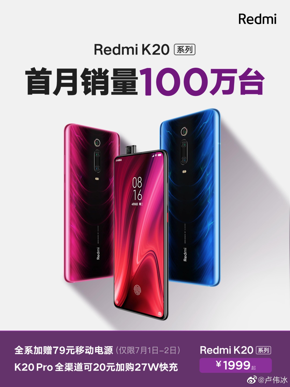 Redmi K20 y Mi 9T cuentan con un nuevo record de ventas. Cómpralo al mejor preico. Noticias Xiaomi Adictos