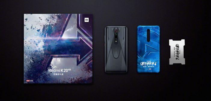 Redmi K20 Pro Marvel Hero Limited Edition, precio, características y fecha. Noticias Xiaomi Adictos