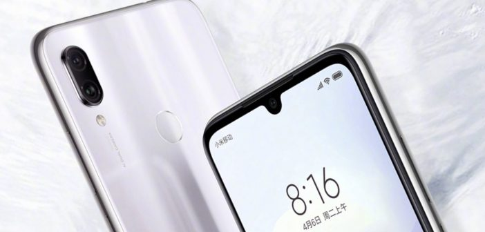 Nuevo Redmi Note 7 en color blanco. noticias Xiaomi Adictos