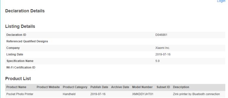 Xiaomi presentará en breve una impresora portátil y los Xiaomi AirDots Pro 2. Noticias Xiaomi Adictos