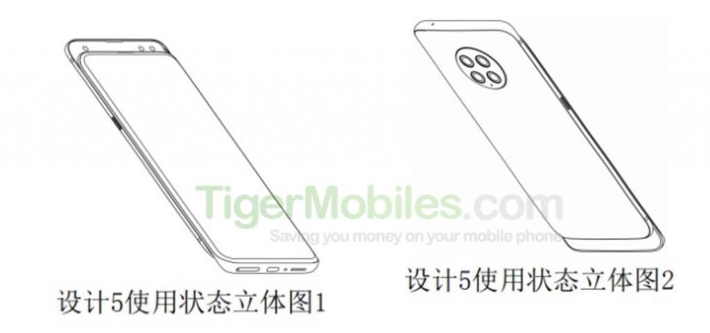 Xiaomi registra dos nuevas patentes de smartphone con diseño peculiar y nuevo. Noticias Xiaomi Adictos