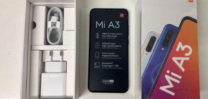 Se filtran las características, precio y unboxing del Xiaomi Mi A3. Noticias Xiaomi Adictos