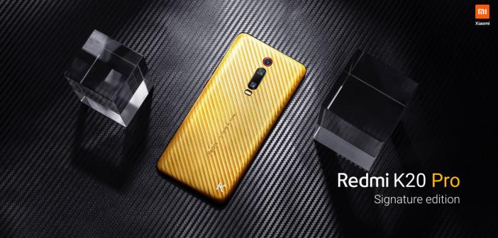 Nuevo Redmi K20 Pro Signature Edition en oro y diamantes. Noticias Xiaomi Adictos