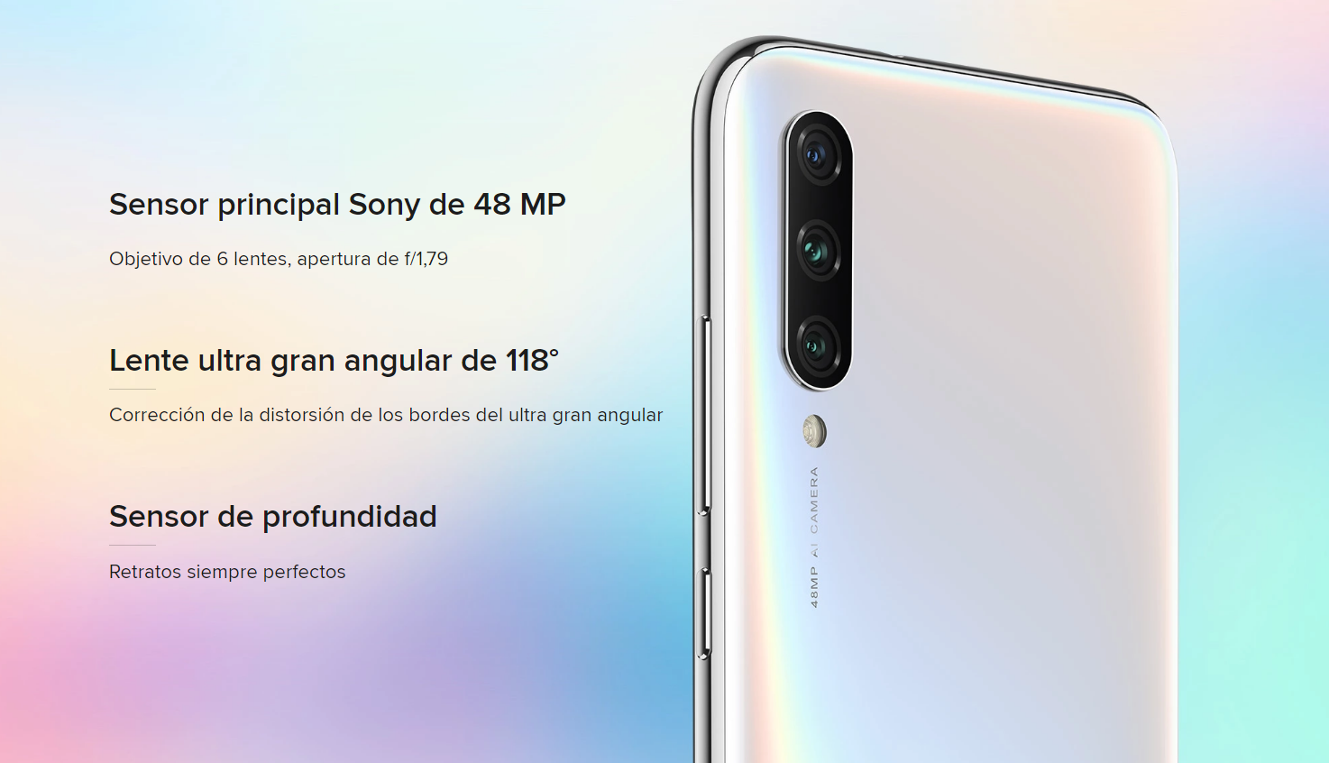 Xiaomi Mi A3, características, especificaciones y precio. Noticias Xiaomi Adictos