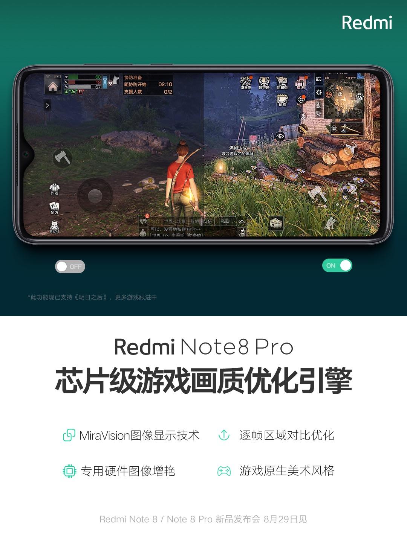 Redmi Note 8 Pro y su sistema de optimización hardware en videojuegos. Noticias Xiaomi Adictos
