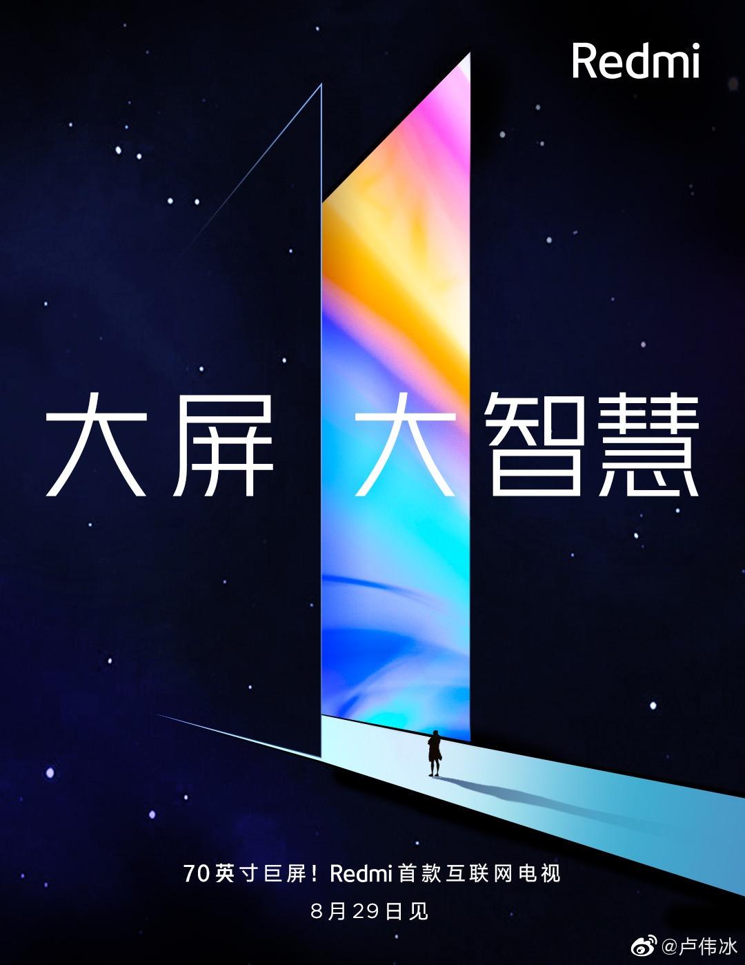 Los nuevos televisores de Redmi ya tienen fecha de presentación. Noticias Xiaomi Adictos