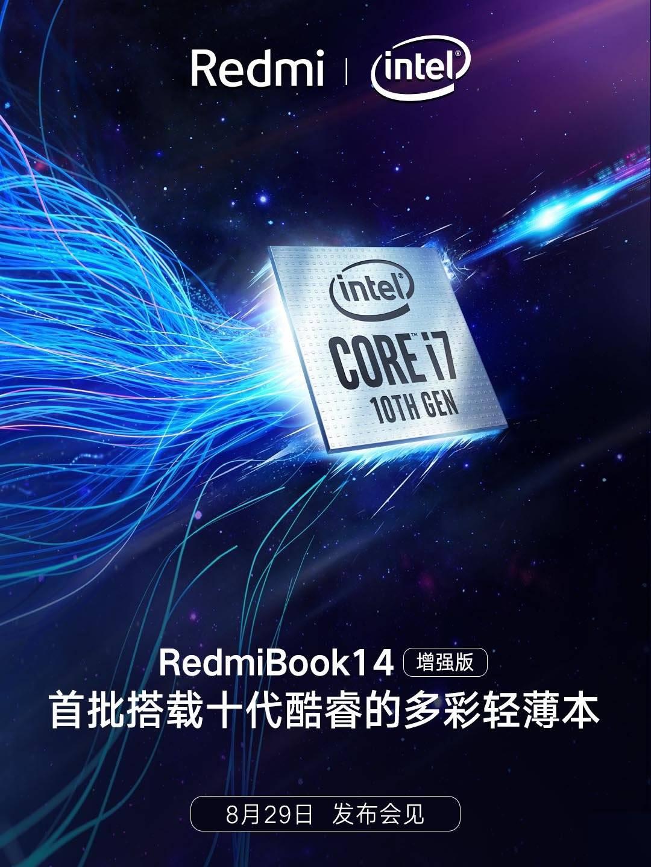 RedmiBook 14 equipado con Intel Core i7 de 10ª generación. Noticias Xiaomi Adictos