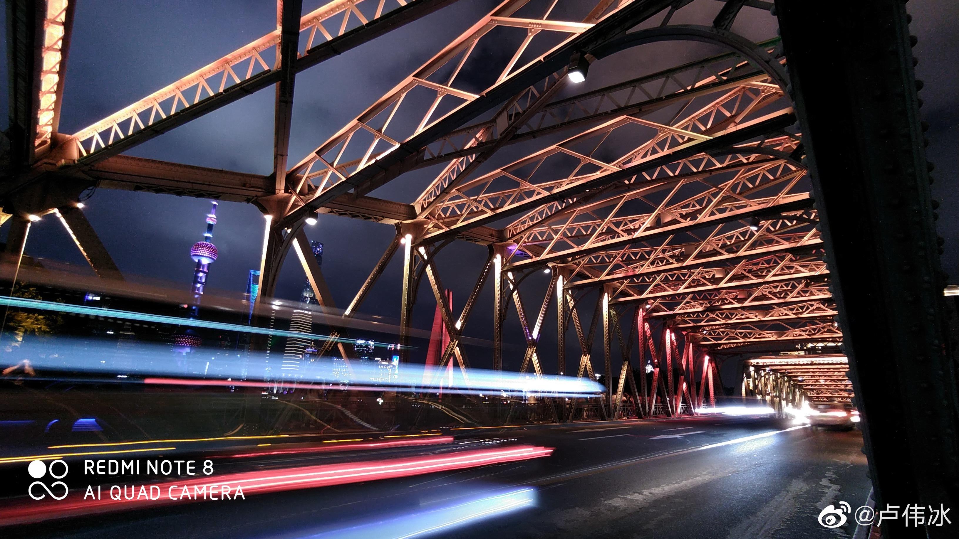 Primeras fotografías nocturnas tomadas desde el Redmi Note 8.