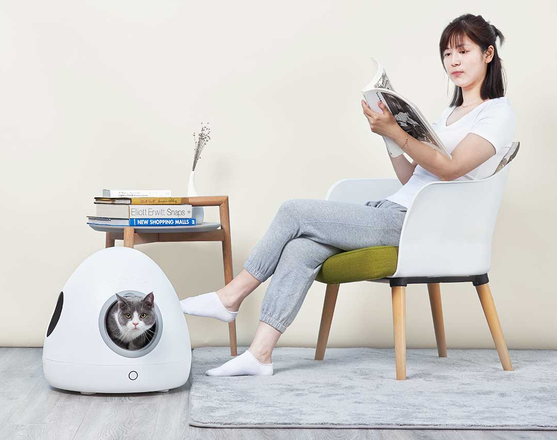 Moestar Spaceship Smart Pet Nest, casita para mascotas de Xiaomi. Noticias Xiaomi Adictos