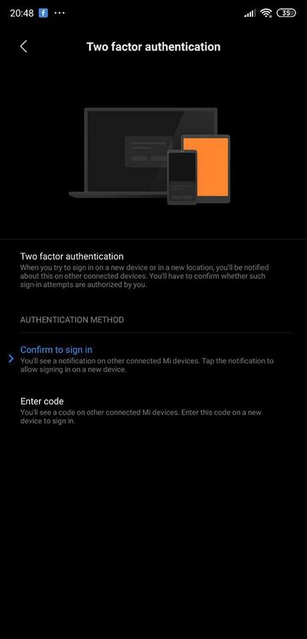 Autenticación en dos pasos presente en MIUI 10. Noticias Xiaomi Adictos