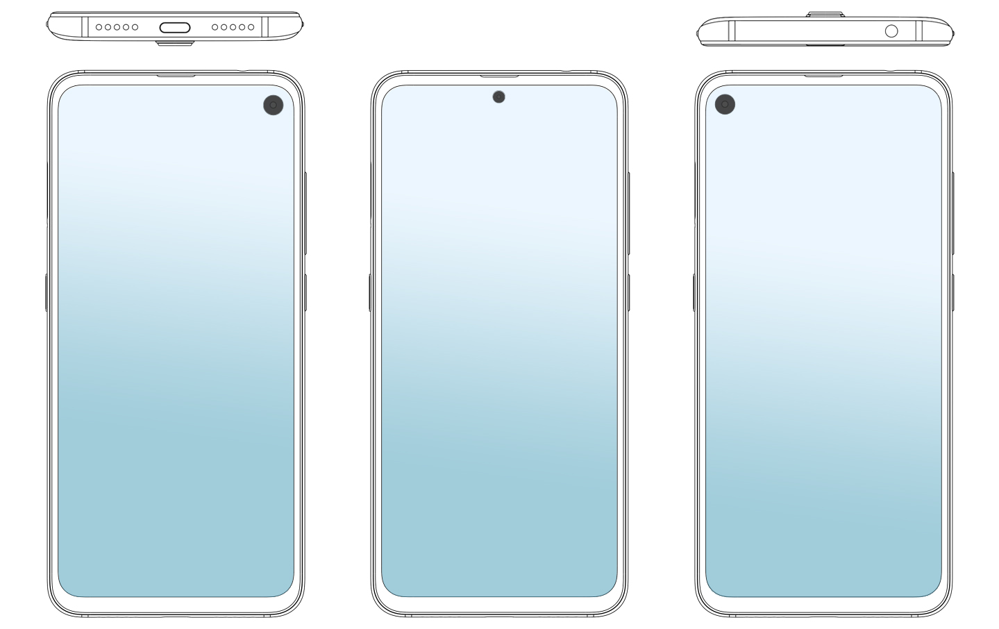 Nueva patente de Xiaomi con cámara perforada. Noticias Xiaomi Adictos