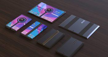 XiaomiMi Mix FlexoMi Dual Flex, nuevos renders del dispositivo plegable o flexible de Xiaomi. Noticias Xiaomi Adictos
