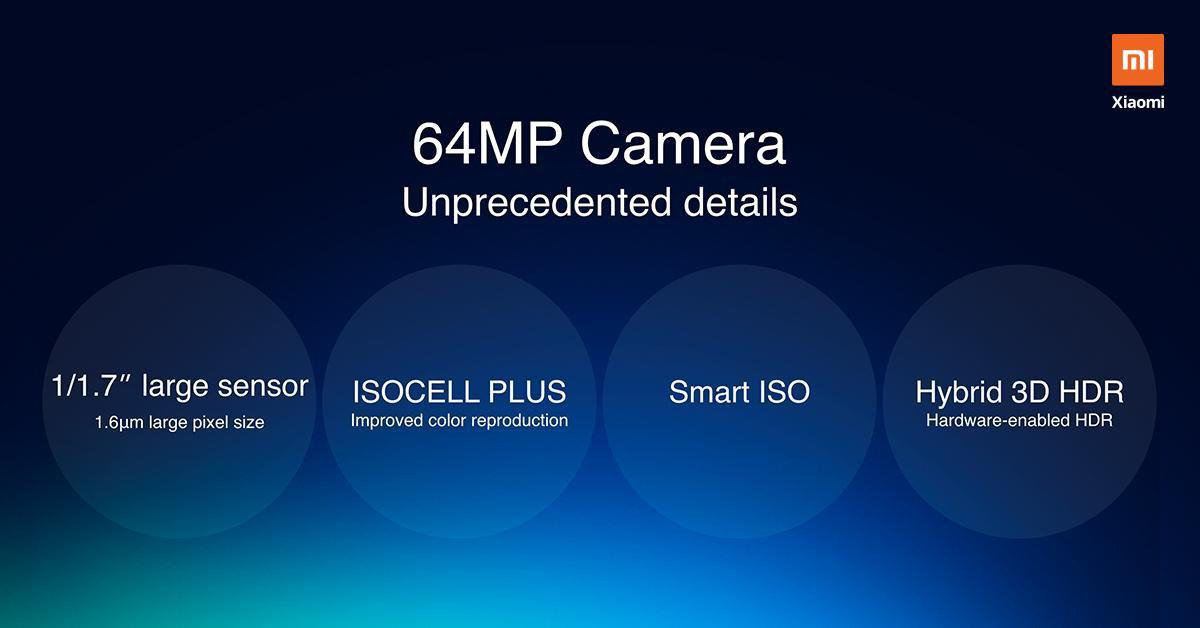 Xiaomi will use Samsung's 64MP photographic sensors. Xiaomi Addicted News