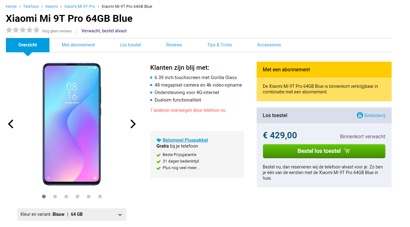 Precio oficial del Xiaomi Mi 9T Pro en Europa. Noticias Xiaomi Adictos