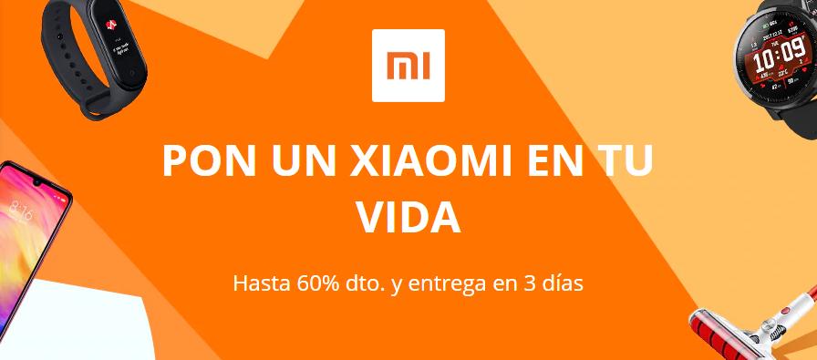 Productos Xiaomi en oferta por la semana de las marcas de AliExpress. Noticias Xiaomi Adictos