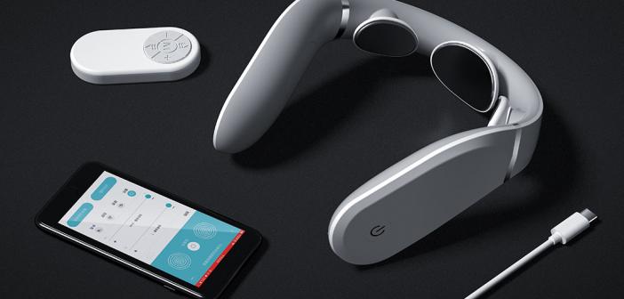 Xiaomi Jeeback Neck Massager G2 masajeador, características, precio. Noticias Xiaomi Adictos