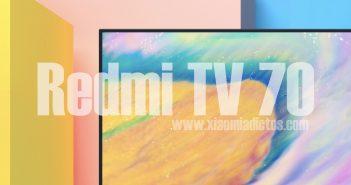 Diseño del nuevo Redmi TV 70. Noticias Xiaomi Adictos