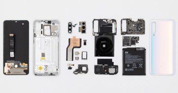 Interior o teardown del Xiaomi Mi 9 Pro 5G. Noticias Xiaomi Adictos