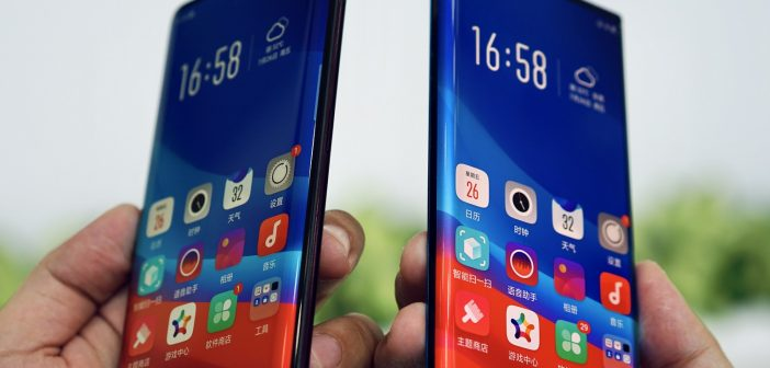 Xiaomi Mi Mix 4 podría contar con pantalla de tipo cascada. Noticias Xiaomi Adictos