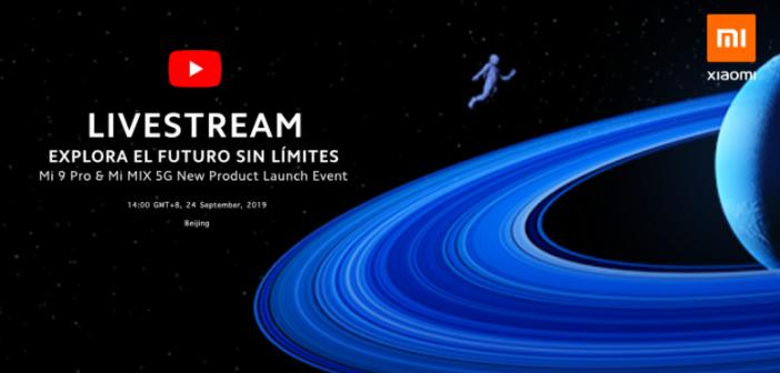 Ver en directo evento de presentación del Xiaomi Mi Mix Alpha, Mi 9 Pro, MIUI 11 y Mi TV Pro. Noticias Xiaomi Adictos