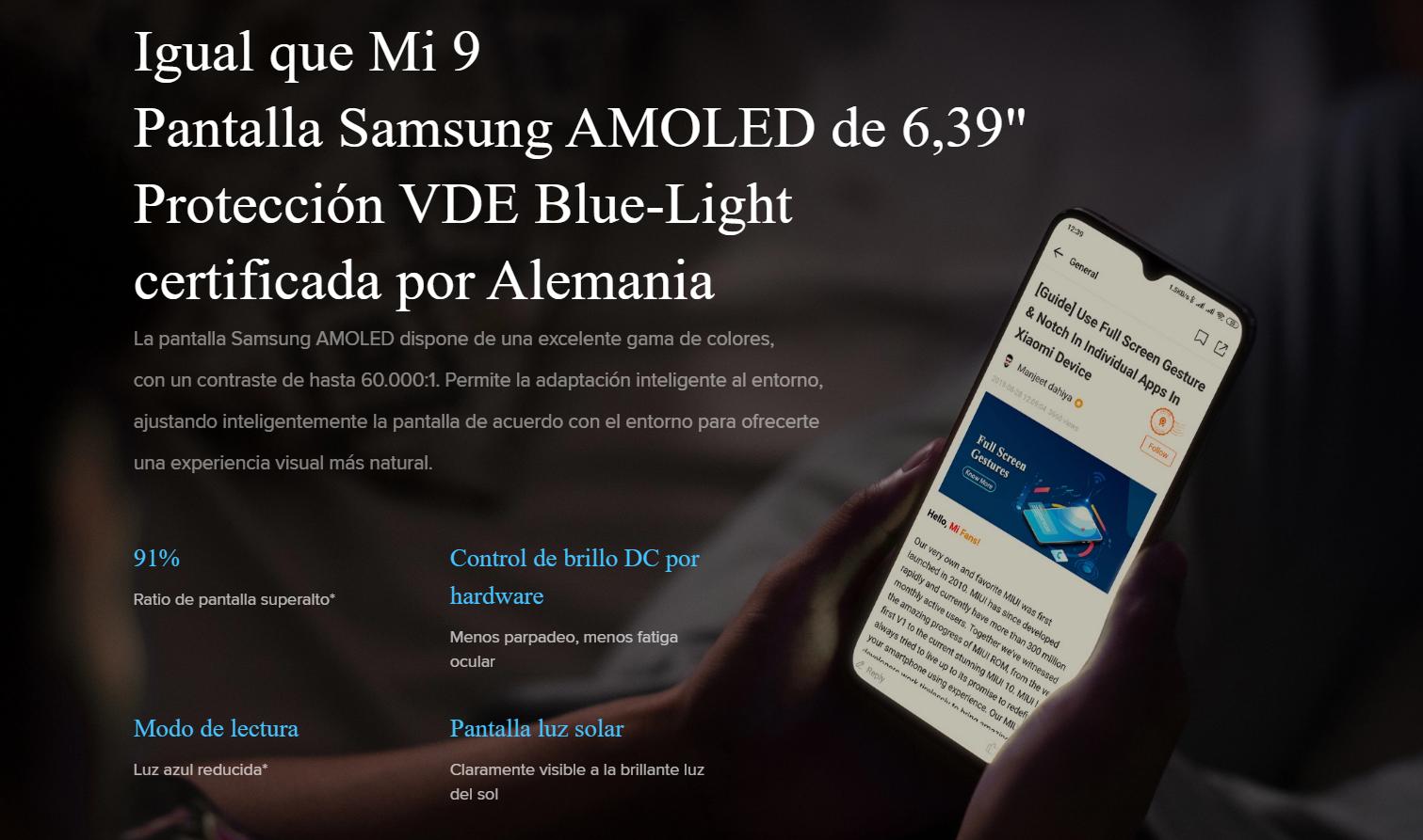 Xiaomi Mi 9 Lite, características, precio y fecha de lanzamiento. Noticias Xiaomi Adictos
