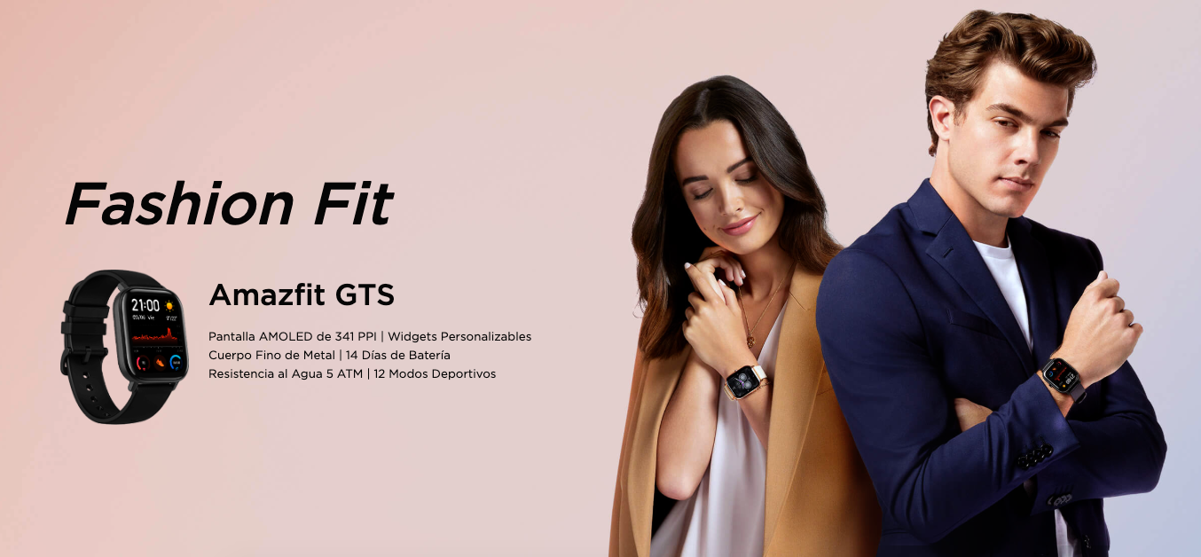 Amazfit GTS features, specifications and where to buy at the best price.  Xiaomi Addicted News