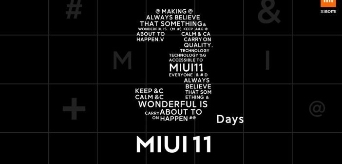 Xiaomi nos recuerda que MIUI 11 llegará en 3 días, el 16 de octubre. Noticias XIaomi Adictos