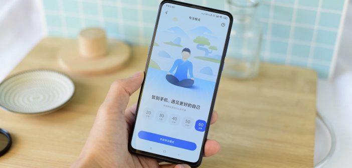 Nuevo modo enfoque, Focus Mode de Xiaomi MIUI 11. Noticias Xiaomi Adictos
