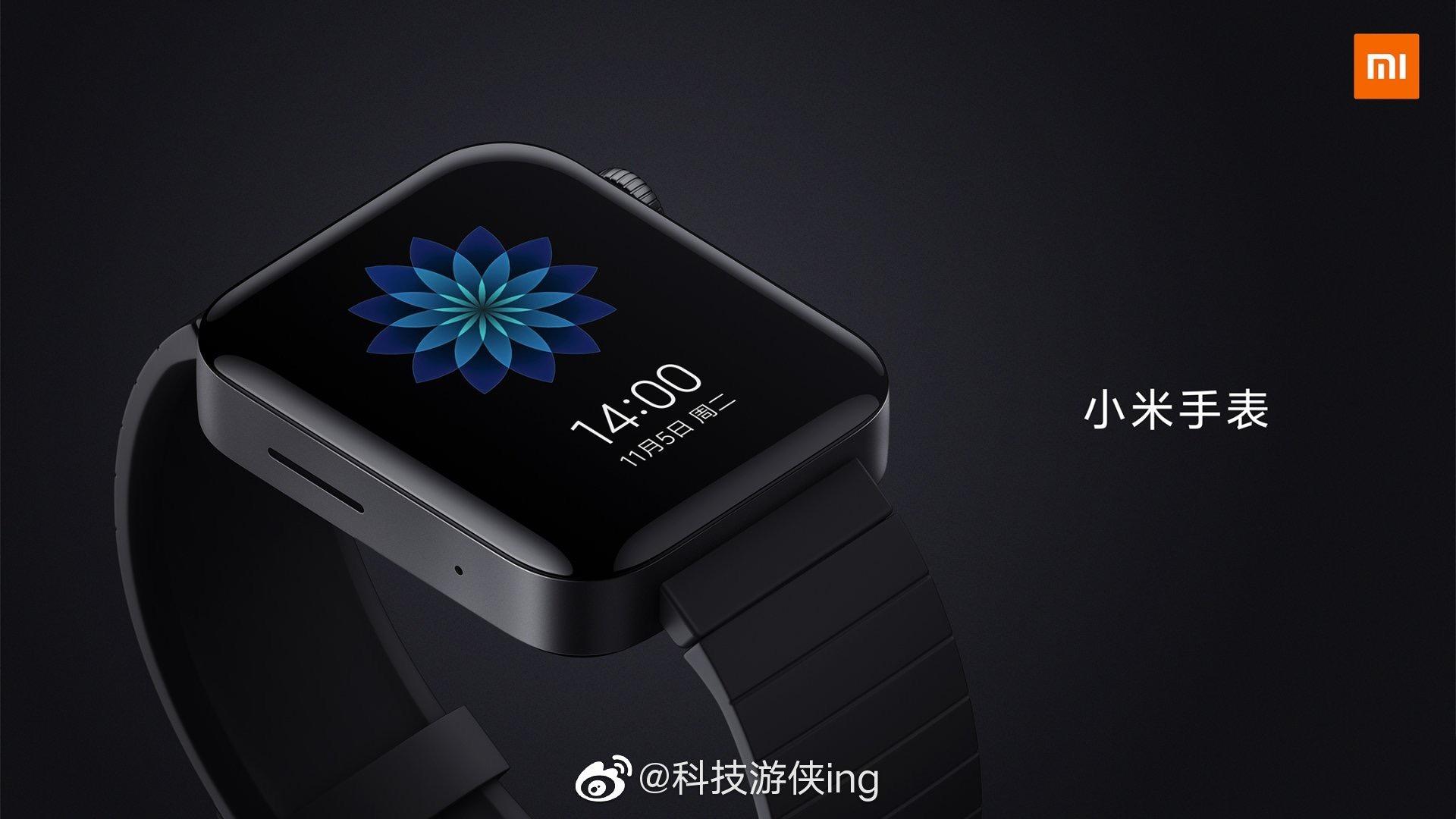 Xiaomi Mi Watch Color diseño, características, especificaciones y precio. Noticias Xiaomi Adictos