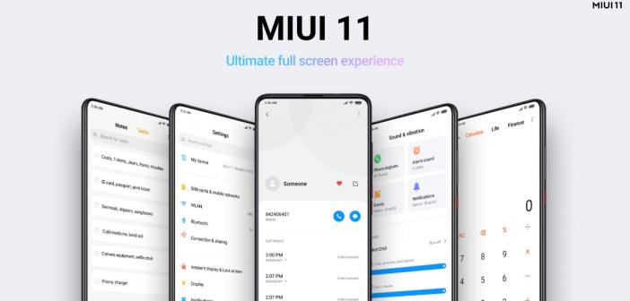 MIUI 11 Global fecha de lanzamiento y smartphones Xiaomi, Redmi y POCOPHONE F1. Noticias Xiaomi Adictos