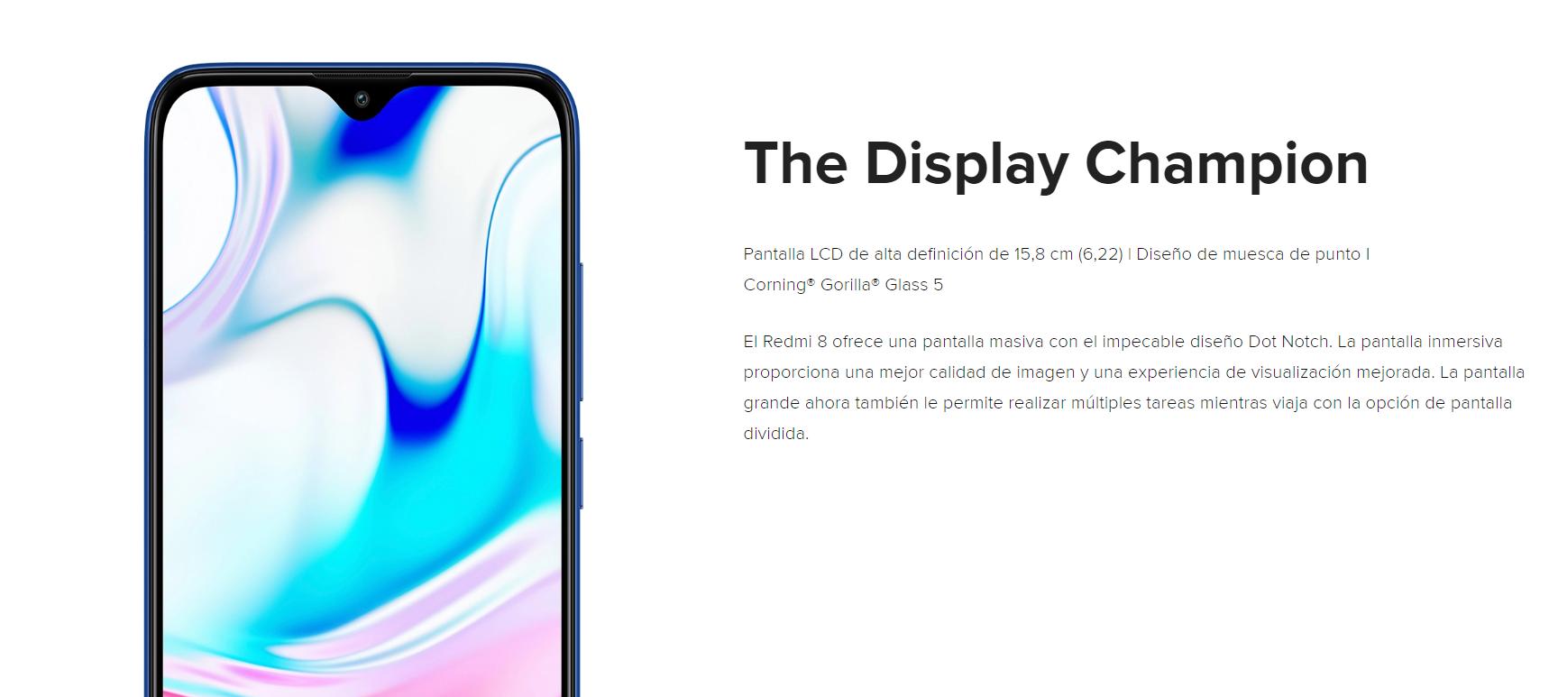 Nuevo Redmi 8, características, especificaciones, precio y fecha de lanzamiento. Noticias Xiaomi Adictos