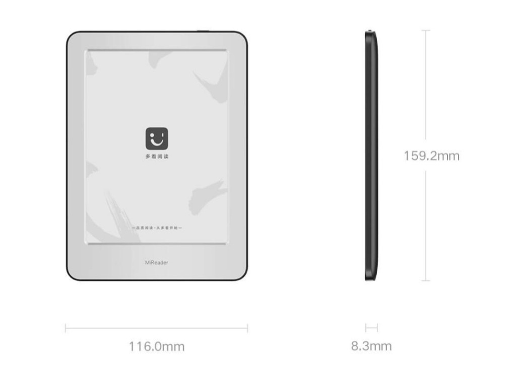 Nuevo Xiaomi Mi Reader, características, especificaciones y precio. Noticias Xiaomi Adictos