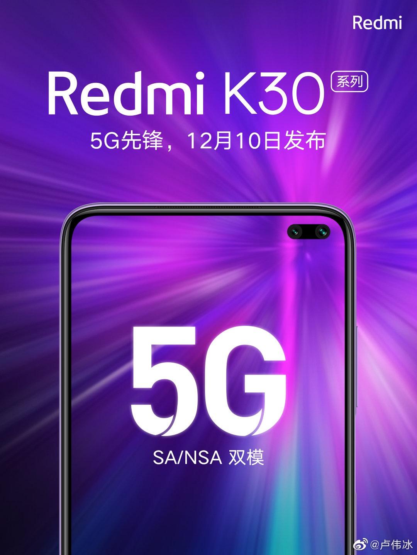 El nuevo Redmi K30 ya tiene fecha de presentación. Posibles características y precio. Noticias Xiaomi Adictos