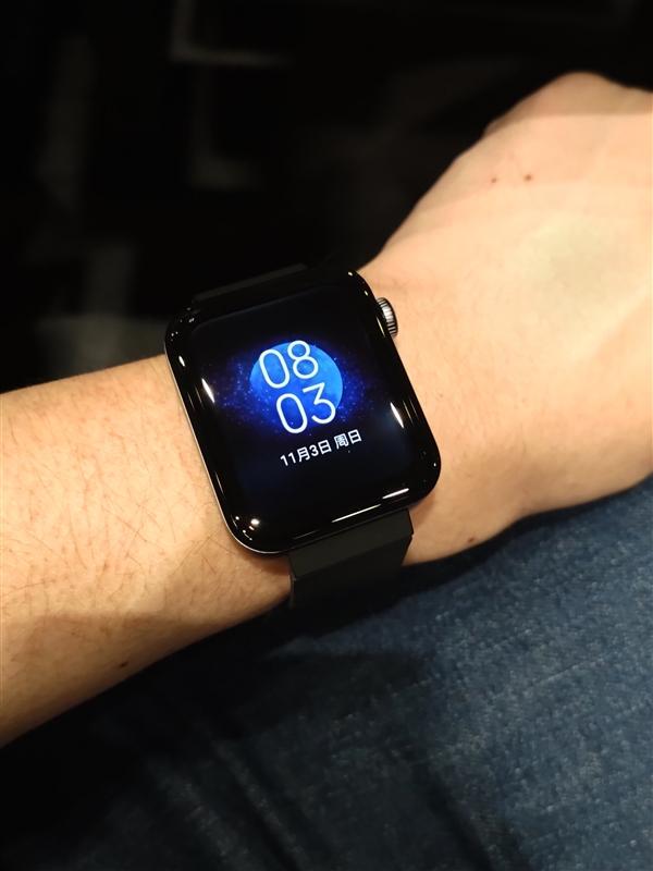 Primera imagen real del Xiaomi Mi Watch filtrada. Noticias Xiaomi Adictos