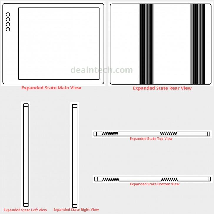 Nueva patente registrada por XIaomi de un smartphone plegable con diseño similar al Mi Mix Alpha. Noticias Xiaomi Adictos