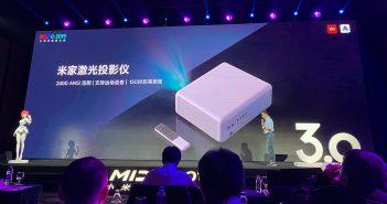 Xiaomi presenta su nuevo proyecto de tamaño compacto capaz de visualizar una pantalla de 150 pulgadas a una distancia reducida. Noticias Xiaomi Adictos