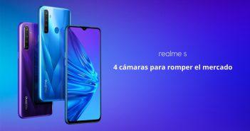 Nuevo Realme 5, características, especificaciones y precio. Comparativa Xiaomi y Redmi 8. Noticias Xiaomi Adictos