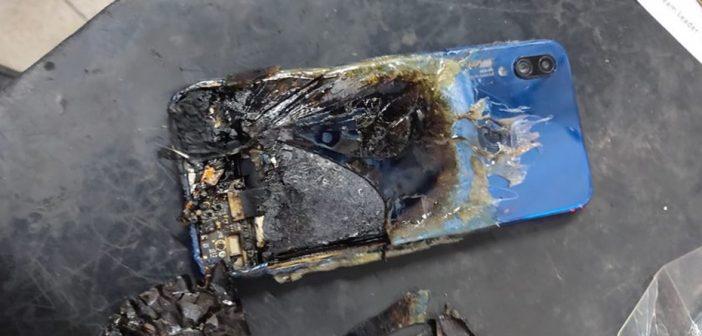 Un Redmi Note 7S explota en la India sin causar daños personales pero junto a una respuesta ridícula por parte de Xiaomi. Noticias Xiaomi Adictos