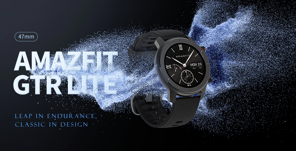 Nuevo Amazfit GTR Lite, características, especificaciones, precio y donde comprar. Noticias Xiaomi Adictos