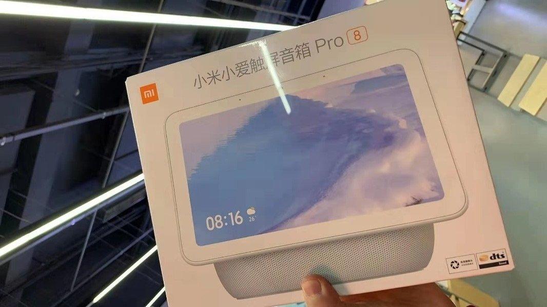 Se filtran las primeras imagenes y características del Xiaomi Smart Display Speaker Pro 8. Noticias Xiaomi Adictos