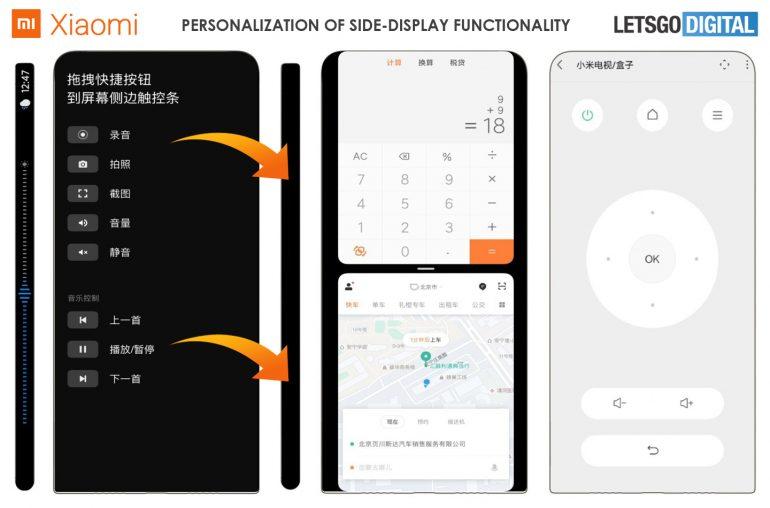 Nueva patente de Xiaomi muestra una interfaz de usuario totalmente diferente. Noticias Xiaomi Adictos